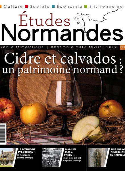 Etudes normandes COUV N8