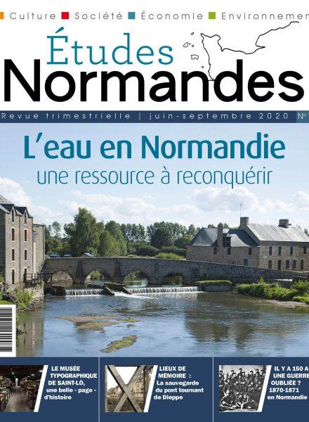 ETUDES NORMANDES 14 COUV